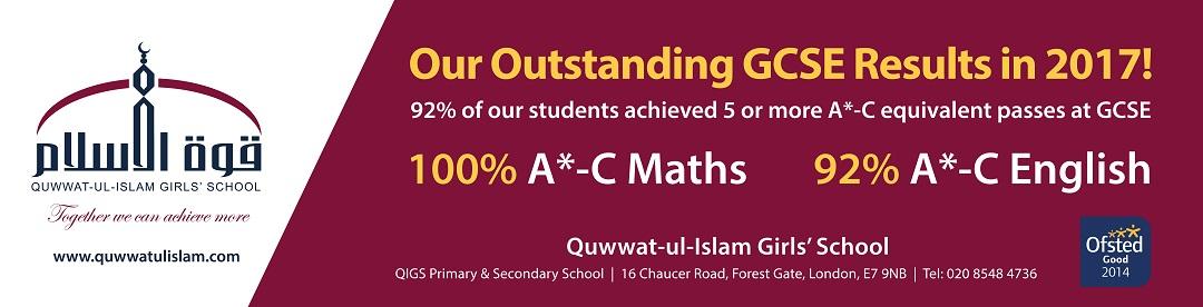QIGS GCSE Results 2017
