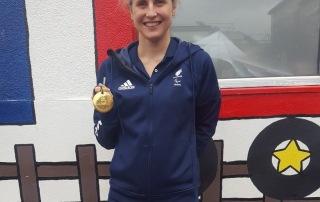 Paralympic athlete Clare Cunningham