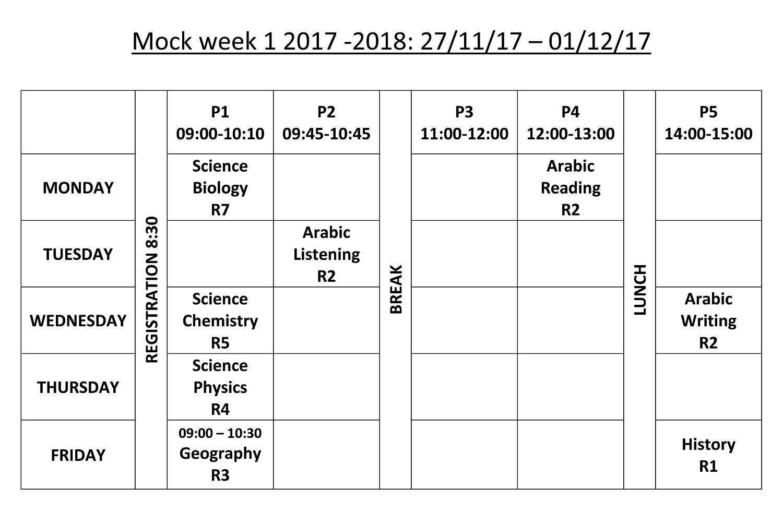 QIGS-Mock-Week-Timetable