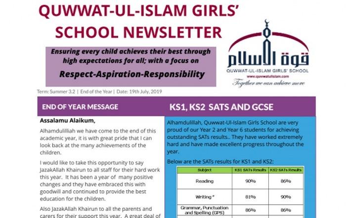 Quwwat-ul-Islam Girls' School London | QIGS